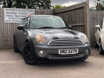 2010 MINI HATCH ONE 1.6 GRAPHITE SPECIAL EDITION 3d 98 BHP