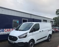 USED 2018 18 FORD TRANSIT CUSTOM 2.0 300 BASE P/V L1 H1 1d 104 BHP NO DEPOSIT AVAILABLE, DRIVE AWAY TODAY!!