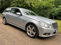 2011 MERCEDES-BENZ E CLASS 2.1 E220 CDI BLUEEFFICIENCY SE 5d AUTO 170 BHP £7495.00