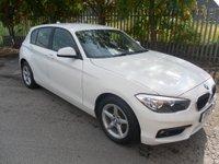 2015 BMW 1 SERIES 2.0 118D SE 5d 147 BHP £7995.00