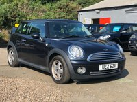 USED 2008 MINI HATCH ONE 1.4 ONE 3d 94 BHP FULL SERVICE RECORD *  1 PREVIOUS KEEPER *  MOT APRIL 2020 *  ALLOY  WHEELS *  LOW INSURANCE GROUP *