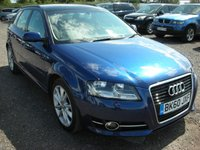 USED 2010 60 AUDI A3 2.0 SPORTBACK TDI SPORT 5d 138 BHP FSH - Panoramic roof - 1 Previous owner