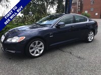 USED 2010 10 JAGUAR XF 3.0 V6 LUXURY 4d AUTO 240 BHP