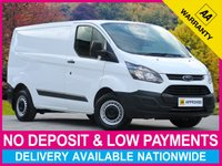 USED 2015 15 FORD TRANSIT CUSTOM 2.2 TDCI ECO-TECH SWB L1H1 330 125 BHP PANEL VAN 3.3 TON HIGHER PAYLOAD WEIGHT BLUETOOTH PLY-LINED