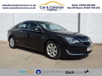 USED 2016 16 VAUXHALL INSIGNIA 2.0 TECH LINE CDTI ECOFLEX S/S 5d 167 BHP 1 Owner Full Vauxhall History Buy Now, Pay Later Finance!
