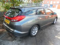 USED 2016 65 HONDA CIVIC 1.6 I-DTEC SE PLUS NAVI TOURER 5d 118 BHP