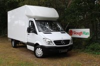 2013 MERCEDES-BENZ SPRINTER 2.1 313 CDI LWB LUTON ONE OWNER £6995.00