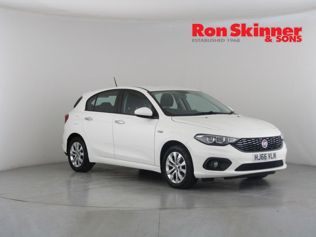 View our 2016 66 FIAT TIPO 1.4 EASY PLUS 5d 94 BHP