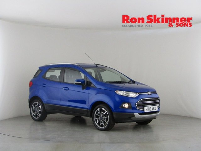 View our 2016 16 FORD ECOSPORT 1.5 TITANIUM TDCI 5d 94 BHP