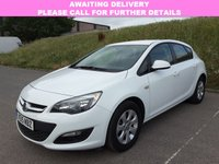 USED 2015 15 VAUXHALL ASTRA 1.6 DESIGN CDTI ECOFLEX S/S 5d 108 BHP 1 OWNER | ALLOYS | AIR CON |