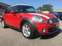 2011 MINI HATCH COOPER 1.6 COOPER 3d 122 BHP £6415.00