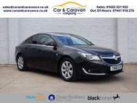 USED 2016 16 VAUXHALL INSIGNIA 1.6 SRI NAV CDTI ECOFLEX S/S 5d 134 BHP 1 Owner Full Vauxhall History Buy Now, Pay Later Finance!