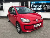 2012 VOLKSWAGEN UP 1.0 TAKE UP 3d 59 BHP £3295.00