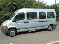 2009 RENAULT MASTER 2.5DCI LM35 100BHP LWB HIGH ROOF DISABLED PASSENGER MINI BUS £6950.00