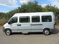 USED 2009 59 RENAULT MASTER 2.5DCI LM35 100BHP LWB HIGH ROOF DISABLED PASSENGER MINI BUS +ONLY 23K+ 1 OWNER+TAILLIFT+