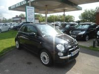 2013 FIAT 500 1.2 LOUNGE 3d 69 BHP SERVICE HISTORY £SOLD