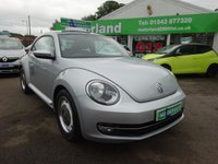 USED 2014 14 VOLKSWAGEN BEETLE 1.2 DESIGN TSI 3d 103 BHP ** 01543 877320 ** JUST ARRIVED **