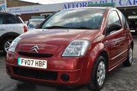 2007 CITROEN C2 1.1 DESIGN 3d 60 BHP £1795.00
