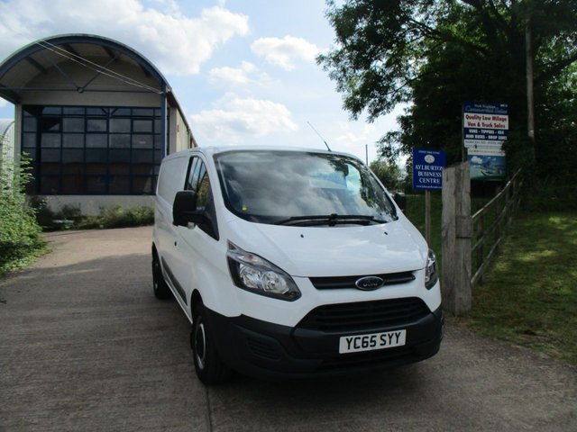 2015 65 FORD TRANSIT CUSTOM 2.2 TURBO DIESEL VAN 100 BHP 290  L1 SWB H1 LOW ROOF