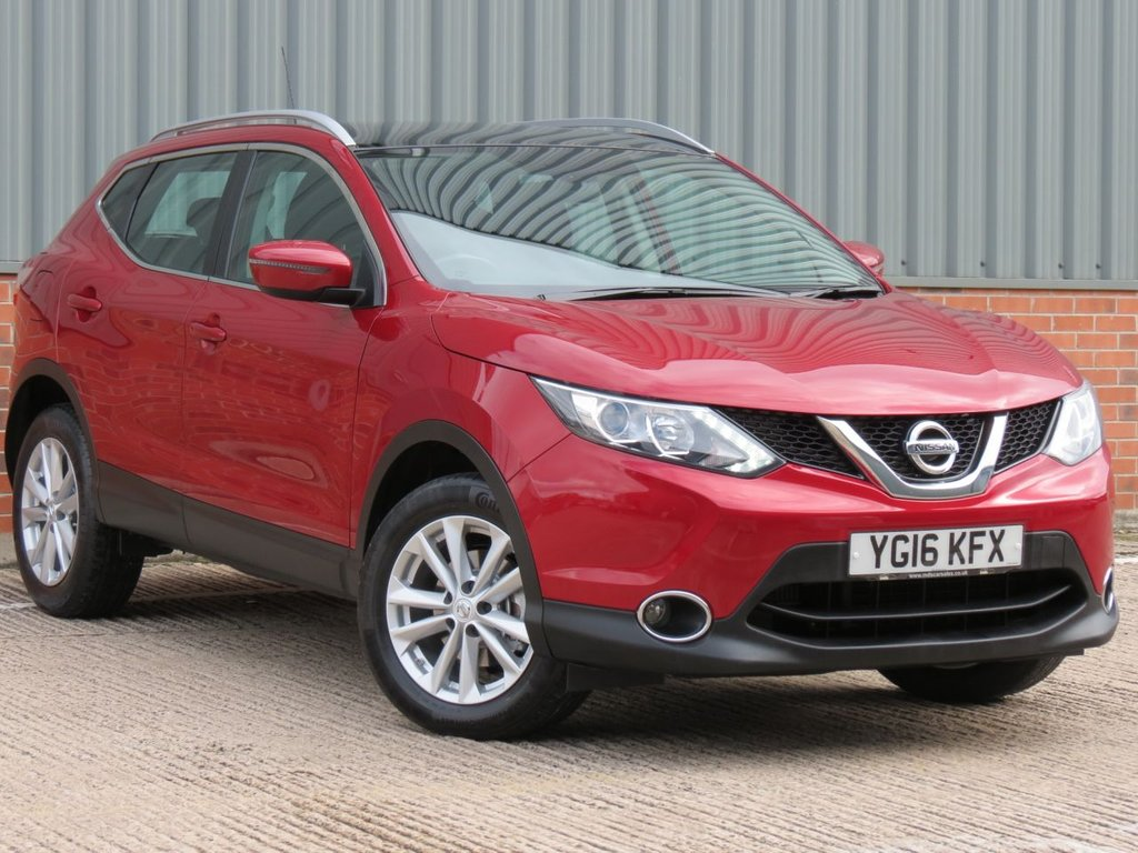 USED 2016 16 NISSAN QASHQAI 1.5 DCI ACENTA 5d 108 BHP EXCELLENT CONDITION AND FANTASTIC VALUE