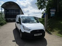 USED 2018 68 FORD TRANSIT CONNECT 1.5  210 TDCI L2 H1 TURBO DIESEL VAN S/L DR 100 BHP 2018 68 Transit Connect L2 LWB New Shape 17,000 Miles, 1 Owner Full History