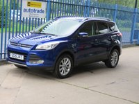 USED 2015 15 FORD KUGA 1.5 TITANIUM 5dr 1/2 Leather Cruise DAB Bluetooth & audio Privacy Finance arranged Part exchange available Open 7 days