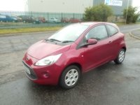 2010 FORD KA 1.2 STYLE 3d 69 BHP LOW MILES CHEAP TAX AND INSURANCE £2291.00