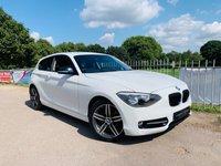 2015 BMW 1 SERIES 1.6 116I SPORT 3d AUTO 135 BHP £12950.00