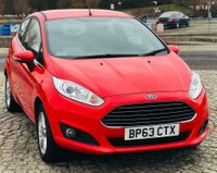USED 2014 FORD FIESTA 1.2 ZETEC 3d MANUAL 80 BHP