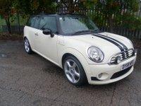 2008 MINI CLUBMAN 1.6 COOPER 5d 118 BHP £2995.00