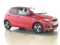 USED 2016 16 PEUGEOT 108 1.2 PURETECH ALLURE 5d 82 BHP 1 OWNER | REV CAM | BLUETOOTH