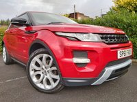 2012 LAND ROVER RANGE ROVER EVOQUE 2.2 SD4 DYNAMIC 3d AUTO ** HUGE SPEC ** £13900.00