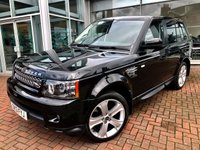 USED 2013 13 LAND ROVER RANGE ROVER SPORT 3.0 SDV6 HSE BLACK 5d AUTO 255 BHP