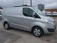 USED 2016 16 FORD TRANSIT CUSTOM 2.2 270 LIMITED LOW ROOF, 124 BHP [EURO 5]