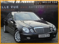 USED 2006 06 MERCEDES-BENZ E CLASS 2.1 E220 CDI ELEGANCE 4d 168 BHP *HUGE HISTORY, MUST SEE*