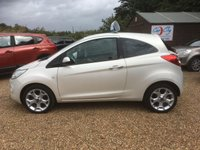 USED 2012 62 FORD KA 1.2 TITANIUM 3d 69 BHP FULLY AA INSPECTED - FINANCE AVAILABLE