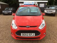 USED 2012 62 FORD B-MAX 1.0 ZETEC 5d 100 BHP FULLY AA INSPECTED - FINANCE AVAILABLE
