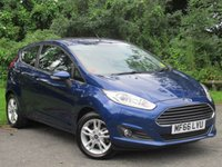 USED 2016 66 FORD FIESTA 1.2 ZETEC 3d * 1 OWNER FROM NEW * 128 POINT AA INSPECTED * LOW MILEAGE CAR *