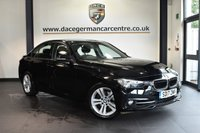 """USED 2017 17 BMW 3 SERIES 1.5 318I SPORT 4DR AUTO 135 BHP * NO ADMIN FEES * FINISHED IN STUNNING BLACK WITH ANTHRACITE UPHOLSTERY + SATELLITE NAVIGATION + BLUETOOTH + DAB RADIO + CRUISE CONTROL + LIGHT PACKAGE + SPORT SEATS + AUTO AIR CON + RAIN SENSORS + PARKING SENSORS + 17"""" ALLOY WHEELS"""