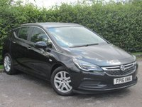 USED 2016 16 VAUXHALL ASTRA 1.6 DESIGN CDTI 5d * ONE OWNER FROM NEW * FULL SERVICE HISTORY * SATELLITE NAVIGATION