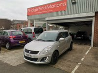 USED 2016 16 SUZUKI SWIFT 1.2 SZ-L 3d 94 BHP ONLY 11497 MILES, CHEAP TO RUN , LOW CO2 EMISSIONS(116 G/KM), £30 ROAD TAX, AND EXCELLENT FUEL ECONOMY, EXCELLENT SPECIFICATION INCLUDING AIR CONDITIONING, SAT NAV AND ALLOY WHEELS, MEETS ALL LARGE CITY EMISSION STANDARDS.