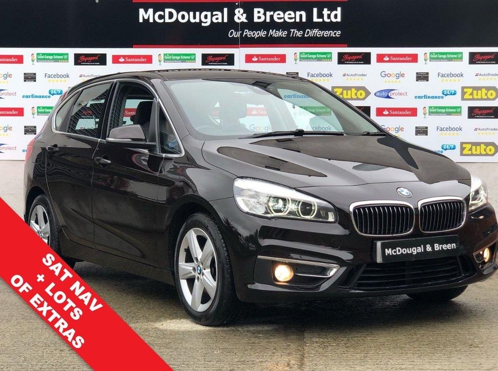 USED 2014 64 BMW 2 SERIES 2.0 218D LUXURY ACTIVE TOURER 5d 148 BHP
