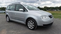 USED 2005 55 VOLKSWAGEN TOURAN 2.0 SE TDI 7 STR 5d 138 BHP REAR ENTERTAINMENT, 2 X KEYS, 7 SEATER, AIR-CONDITIONING, ALLOY WHEELS, REMOTE LOCKING, ELECTRIC WINDOWS, ELECTRIC MIRRORS, METALLIC PAINT, CD-PLAYER, OVERHEAD STORAGE, ECONOMICAL FAMILY MOTORING, SUPERB MPG