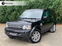 USED 2013 13 LAND ROVER DISCOVERY 3.0 4 SDV6 COMMERCIAL 1d 255 BHP
