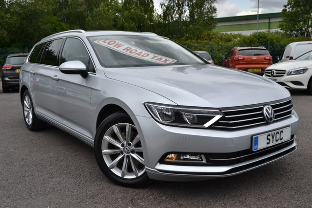 USED 2015 65 VOLKSWAGEN PASSAT 1.6 SE BUSINESS TDI BLUEMOTION TECHNOLOGY 5d 119 BHP £20 ROAD TAX ~ SAT NAV ~ FRONT AND REAR PARK SENSORS ~ 6 MONTHS WARRANTY
