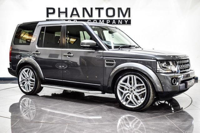 Used Land Rover Discovery cars in Wigan from Phantom Motor