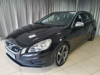 USED 2011 61 VOLVO V60 2.0 D3 R-DESIGN 5d AUTO 161 BHP