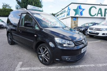 2015 VOLKSWAGEN CADDY C20 1.6 TDI BLUEMOTION BLACK EDITION 5DR ( NO VAT !! ) £12689.00