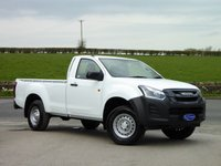 USED 2019 19 ISUZU D-MAX 1.9 SINGLE CAB 4X4 161 BHP DELIVERY MILEAGE SINGLE CAB 4X4 - SAVE OVER £3000!