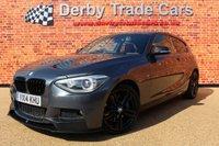 USED 2014 14 BMW 1 SERIES 2.0 125D M SPORT 3d AUTO 215 BHP